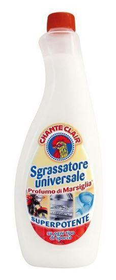 Універсальний очищувач і засіб для виведення плям Sgrassatore universale Marsiglia 625 ml.(Запаска)