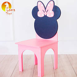 Стульчик Lama Toys Микки Розовый