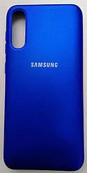 Silicone Color Cover Samsung A50 Blue