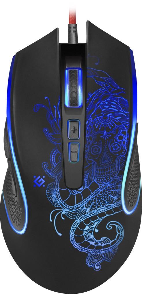 Мышь Defender Venom GM-640L Black (52640)