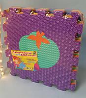 Коврик-пазл EVA массажный, Развивающий игровой коврик, 10 шт. в упаковке, 31*31 см С 36611