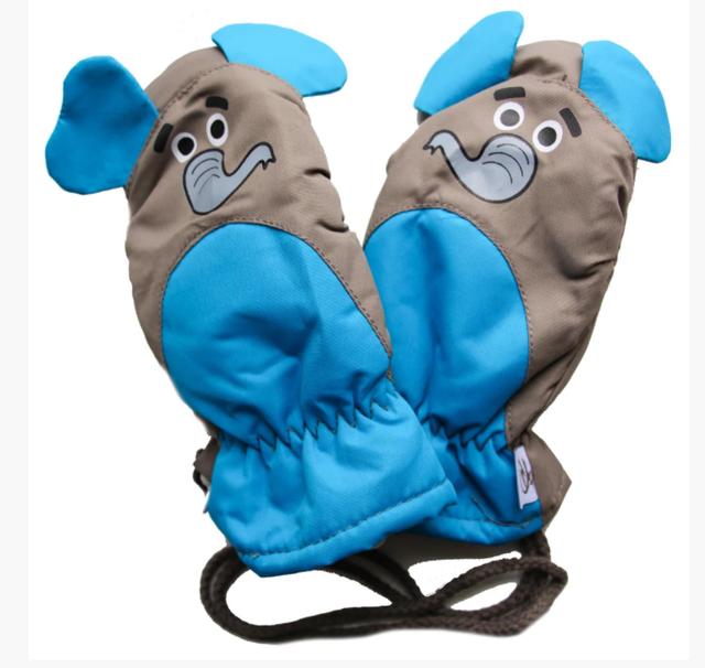 дитячі теплі зимові рукавички