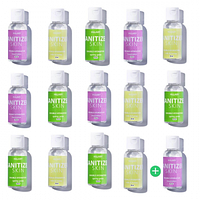 Антисептик Санитайзер HiLLARY Skin Sanitizer сертифицированный 15 шт по 35 ml SKL11-238942