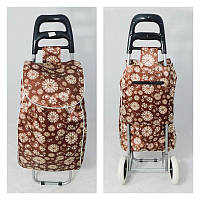 Господарська сумка-візок, кравчучка, сумка для покупок на 2-х колесах circles, фото 1