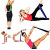 Резинка для фитнеса и спорта Esonstyle (эластичная лента эспандер) набор 5 шт + Чехол в комплекте, фото 3