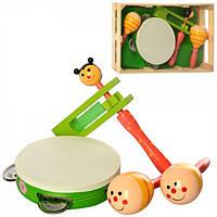 Набор деревянных музыкальных инструментов ББ MD-2353