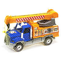Машинка Кран (синий) 238
