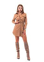 Женское платье рубашка из эко кожи., фото 1