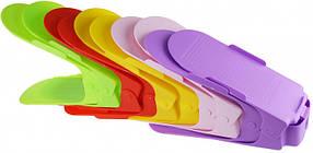 Подвійна стійка для взуття Supretto Home набір 10 шт Різнобарвний КОД: 5421