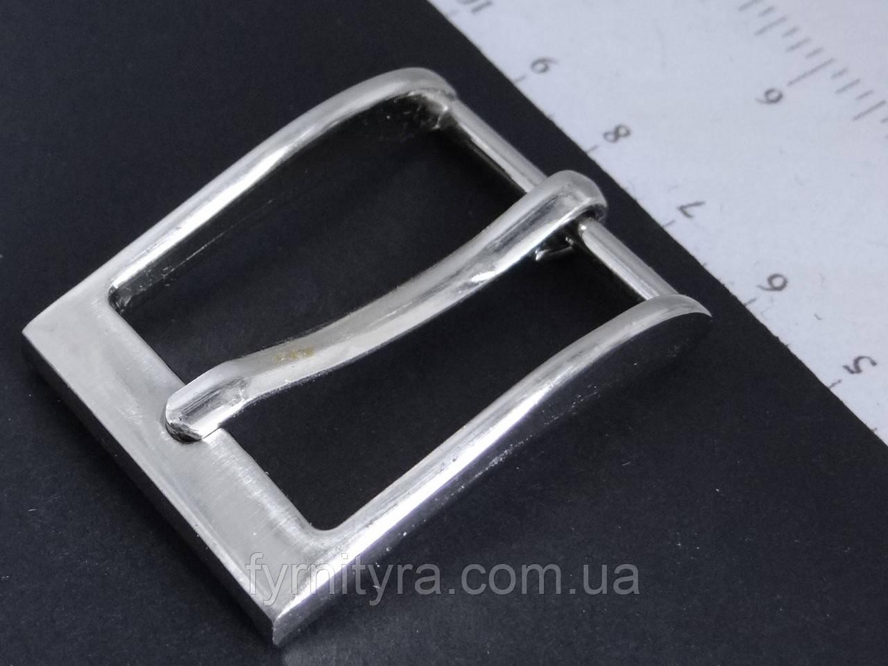 Пряжка 25 мм никель