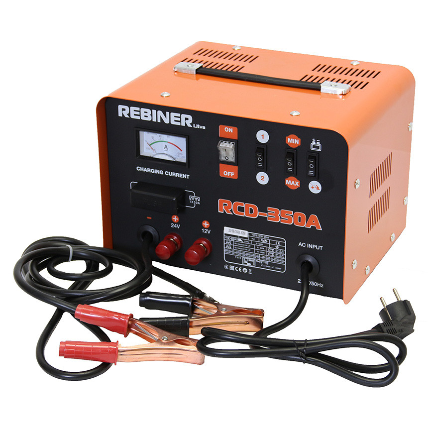 Пуско-зарядное устройство Rebiner RCD-350A