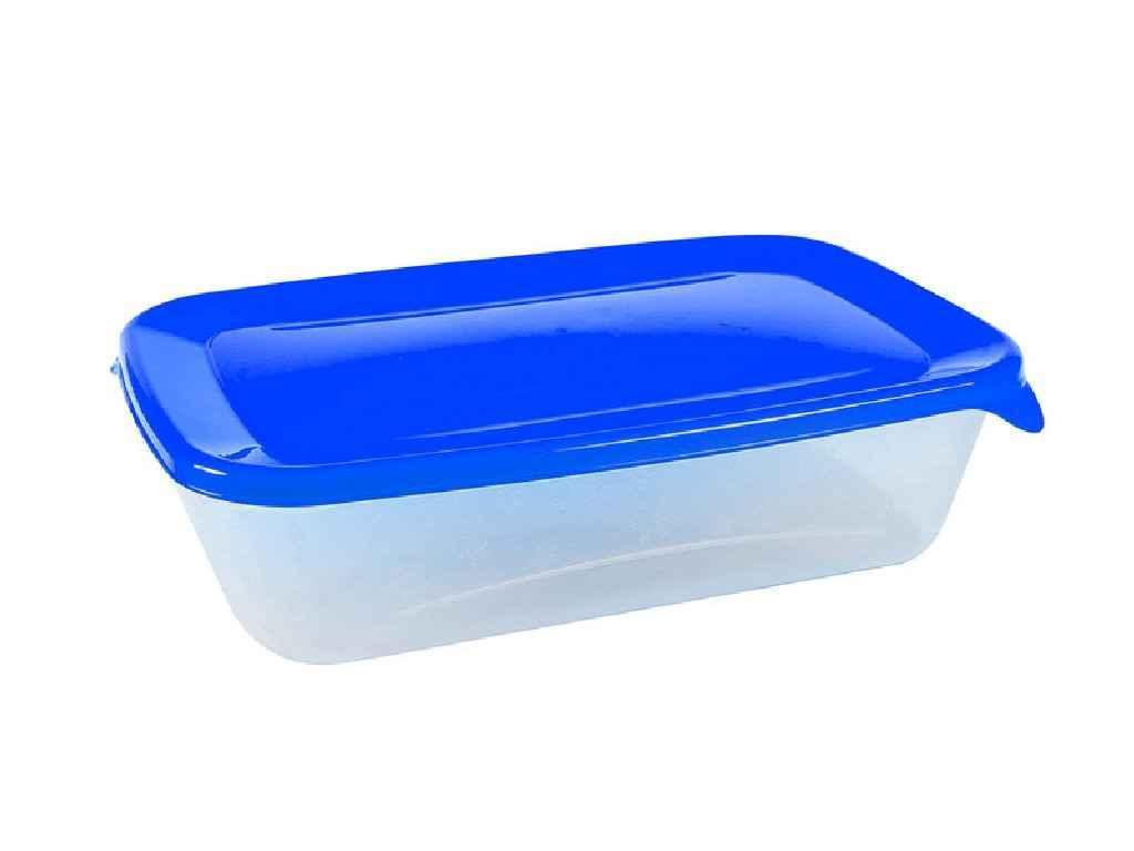 Харчовий контейнер «Лайт» 1,0 л. (224*148*58 мм) ПБ-072 ТМ ПОЛІМЕРБИТ