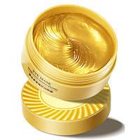 Гидрогелевые патчи под глаза с золотом Bioaqua Hydrating Moisturizing Eye Mask, 80г/60шт, фото 1