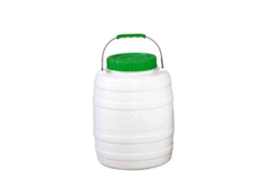 """Пластиковая пищевая фляга 20 литров (горловина 15 см) """"ЛЕМІРА"""""""