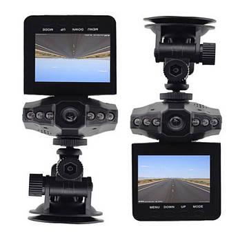 Автомобильный видеорегистратор DVR-027 HD (H-198) 1280x720 регистратор Черный