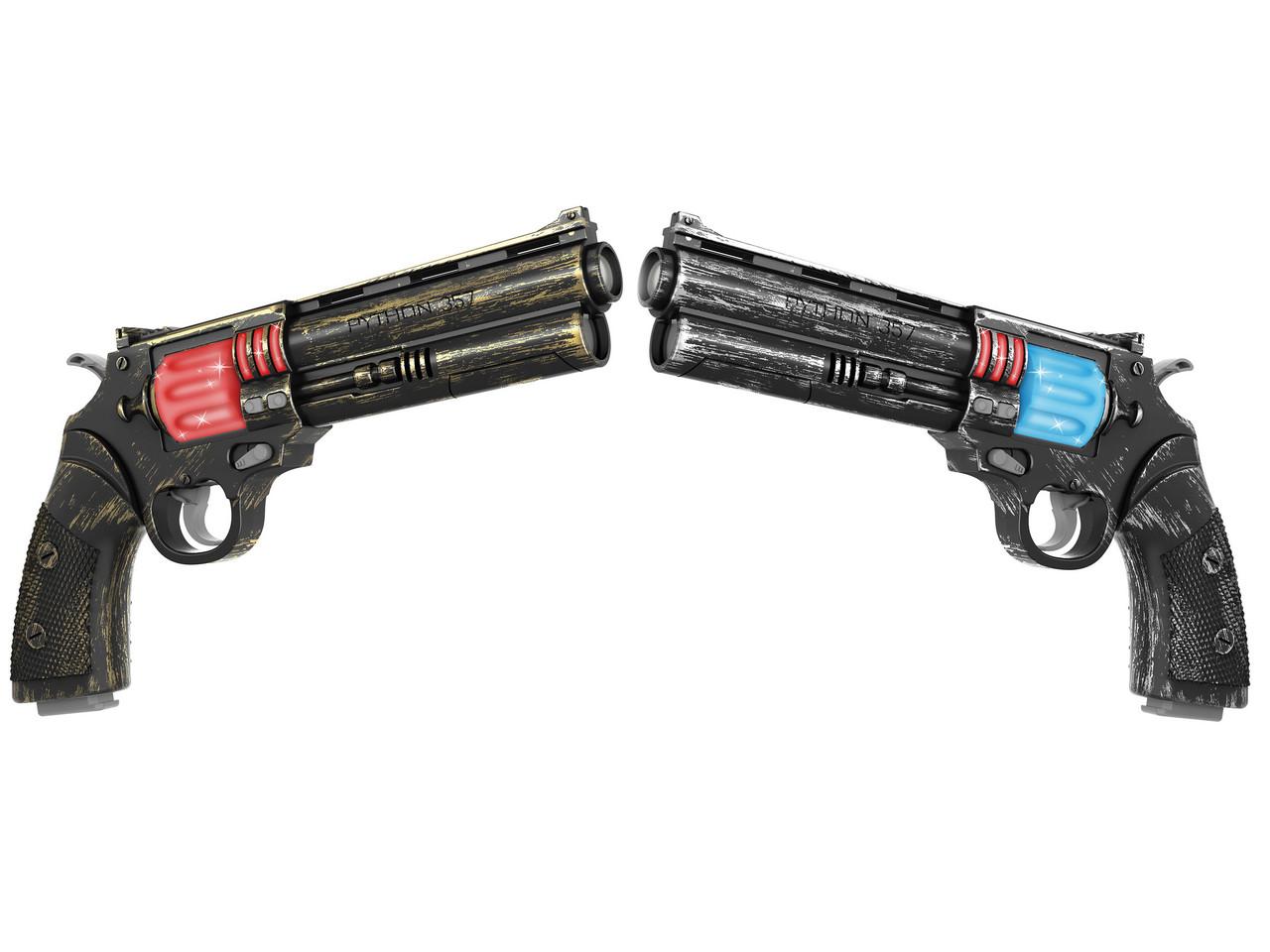 Пистолеты револьверы инфракрасные