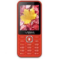Мобильный телефон Sigma X-style 31 Power Red (4827798854730)