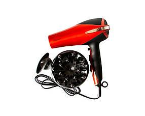 Фен Maestro 2200 Вт Красно-черный  КОД: 2223