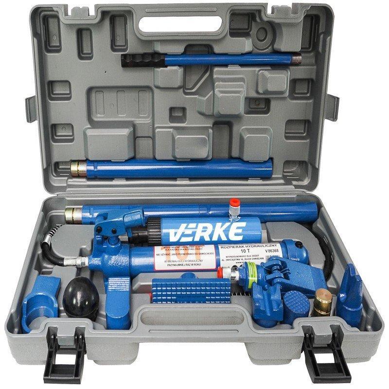 Комплект гідравлічних розтяжок (розпірок) VERKE 10Т V86368