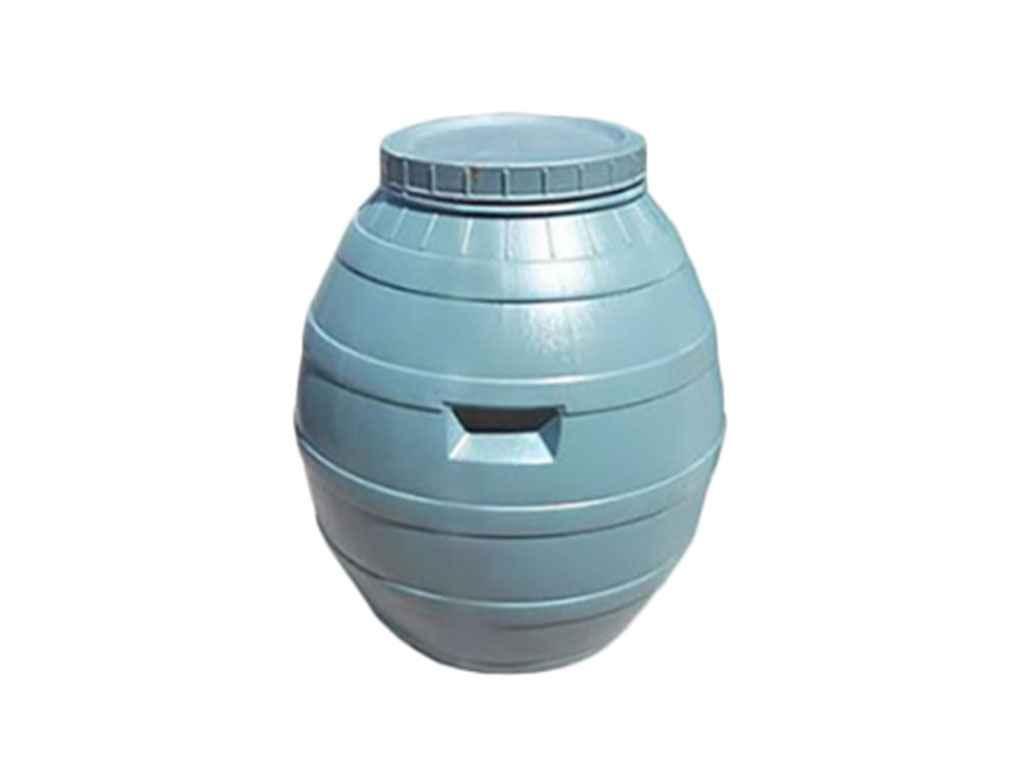 Пластиковая бочка 110 литра КОНСЕНСУС (кадка)