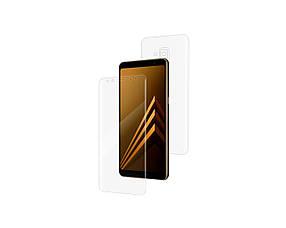 Защитная пленка 2 стороны - лицевая и обратная SO EASY ITOP 360 для Samsung Galaxy A8 Plus 2018 Full Cover