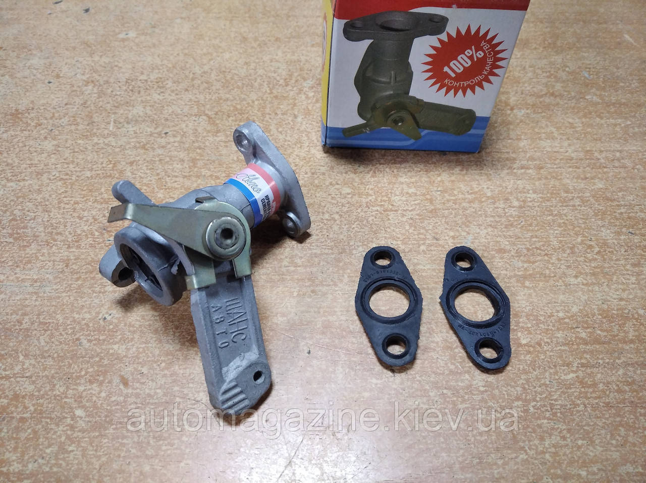 Кран отопителя ВАЗ 2101 - 2107 (керамический)