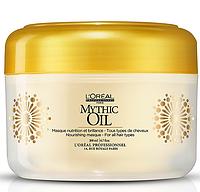 Mythic Oil Masque, L'Oreal - Питательная маска, придающая глянцевый блеск, 200 мл