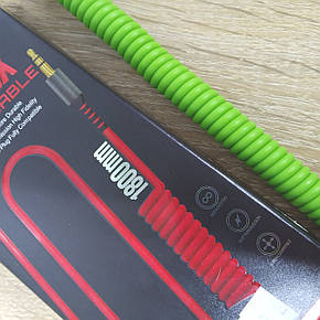 Xinphone Аудио кабель 3.5 aux audio cable Green, фото 2