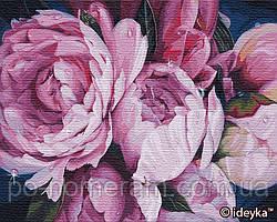 Картина по номерам Идейка Нежность пионов Александра Озерова (KH3116) 40 х 50 см