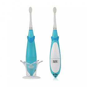 Детская электрическая зубная щетка Seago SG921 Sonic с музыкальным таймером Blue  КОД: K1010050204