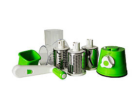 Механічна овочерізка Kitchen Master Зелена КОД: 2293