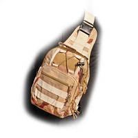 Походный рюкзак OXFORD 600D Desert Camo на одну лямку КОД: 006881