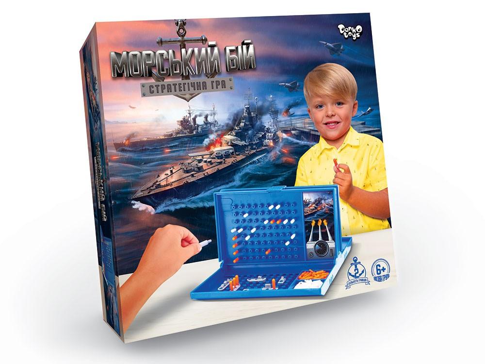 Настольная игра Морской Бой Danko Toys G-MB-01U