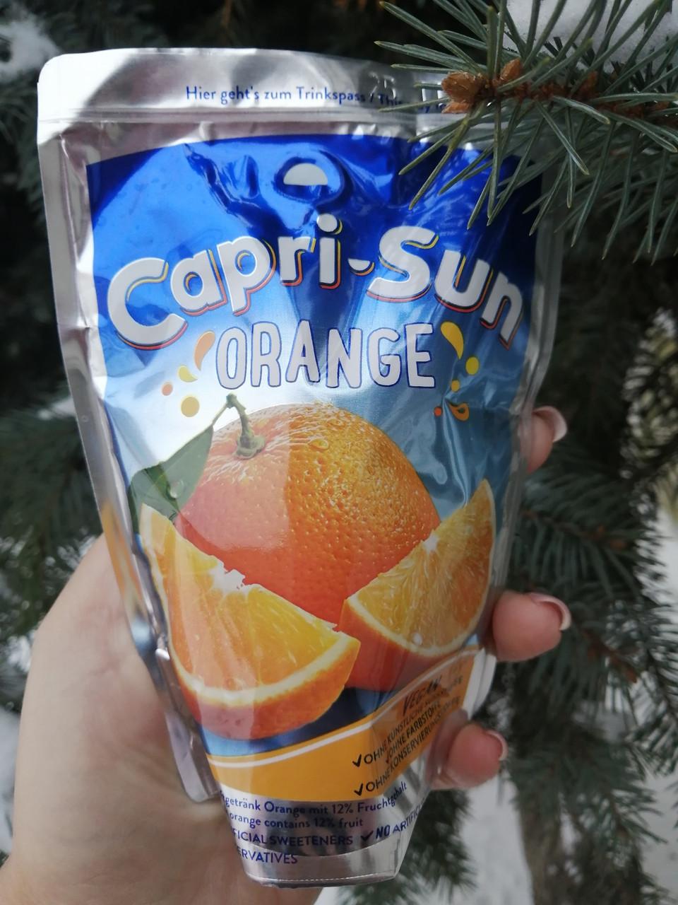 Capri-Sun апельсин