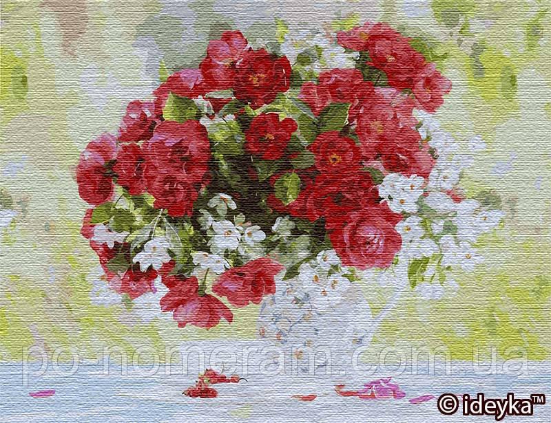 Картина по номерам Идейка Цветущее удовольствие (KHO13118) 50 х 65 см (Без коробки)