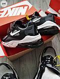 Мужские кроссовки Nike Air Mаx 270 Reаct  Black/Gray/White, фото 3