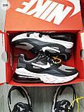 Мужские кроссовки Nike Air Mаx 270 Reаct  Black/Gray/White, фото 5