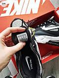 Мужские кроссовки Nike Air Mаx 270 Reаct  Black/Gray/White, фото 7