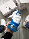 Мужские кроссовки Nike Air Max 270 Flyknit White/Blue, фото 3