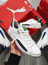 Мужские кроссовки Puma MATCH White/Green