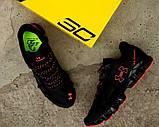 Мужские кроссовки Under Armour Scorpio Running shoes black/red, фото 3