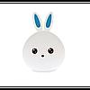 Силиконовый ночник 3D Кролик, фото 2
