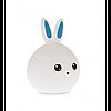 Силиконовый ночник 3D Кролик, фото 3