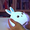 Силиконовый ночник 3D Кролик, фото 8