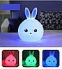 Силиконовый ночник 3D Кролик, фото 10