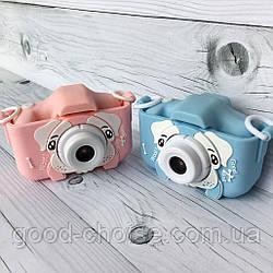 Детский фотоаппарат игрушка Winnie Pooh Cool Dog с селфи-камерой / Детская цифровая камера