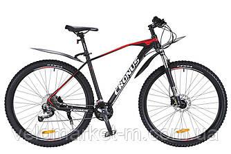 """Велосипед Cronus Rover 520 29"""" 19,5"""" Черный-белый-красный"""