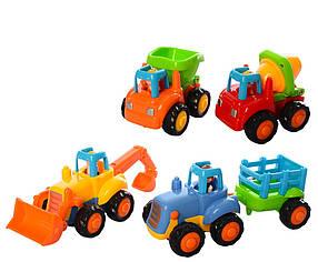 Набір машинок Limo Toy Різнобарвний КОД: roy_krp172nd.326m