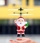 Летающая игрушка Flying Ball Санта | Интерактивная игрушка, фото 7