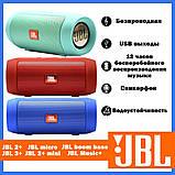 Портативная акустическая беспроводная колонка  JBL Charge 2+ mini, фото 2